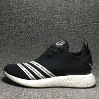 Best Deal Online Adidas Boost NMD R2 PK White Mountaineering Primeknit Women Men Running Shoes BB7928