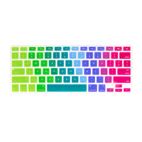 Rainbow Ombre Silicone MacBook Keyboard Cover
