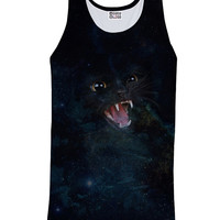 Black CAT Galaxy Tank Top *Ready to Ship* (10% off coupon code: 030609)