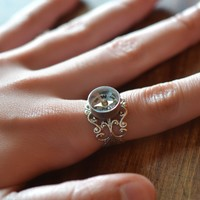 Working Compass Ring