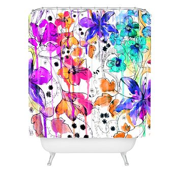 Holly Sharpe Lost In Botanica 1 Shower Curtain