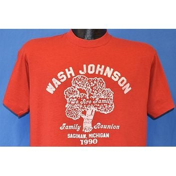 90s Wash Johnson We Are Family t-shirt Large