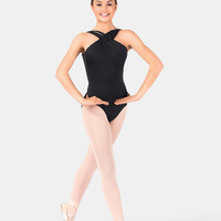 Free Shipping - Jozette Camisole Leotard With Rope Detail by MIRELLA