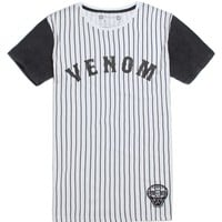 Vanguard Venom Baseball T-Shirt - Mens Tee - Black