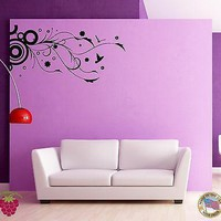 Wall Sticker Birds Branch Stars Cool Decor for Bedroom z1327