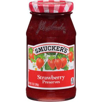 Smucker's Strawberry Preserves, 12 oz - Walmart.com