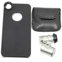 Fish Eye Fisheye Camera Lens With Black Back Case For iPhone 5 5G DC214