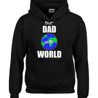 Best DAD in the World Fathers Day Gift Present - Hoodie