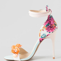 Chinese Laundry Shoes, Lullaby Floral Beaded Heel