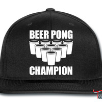 Beer Pong Champion Snapback