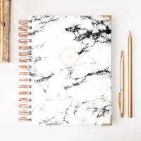 2018 Classic Planner – Marble Initial