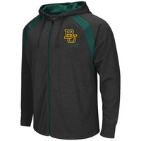 Baylor Bears Lift Full Zip Hoodie – Charcoal