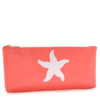 LoloBag - Manning Clutch - White Starfish