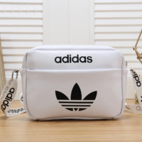 Adidas Women Fashion Leather Satchel Shoulder Bag