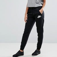 Nike Rally Regular Fit Sweat Pant In Black at asos.com