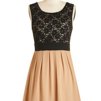 ModCloth Mid-length Sleeveless A-line Showered in Affection Dress