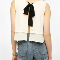 Pins And Needles Bow-Back Swing Tank Top