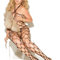 Vivace EM-8620Q Diamond net bodystocking