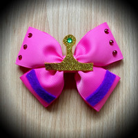Adventure Time Princess Bubblegum Character Inspired Pink Hair Bow
