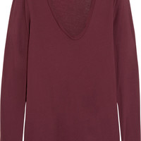 James Perse - Slub cotton-jersey top