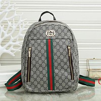 GG Fashion Classic Leather Backpack