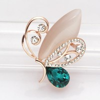 Korean Accessory Cats Butterfly Animal Environmental Jewelry [6573075527]