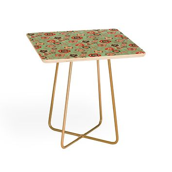 Pimlada Phuapradit Candy Floral Baby Blue Side Table