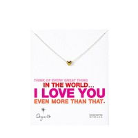 Dogeared Gold Plated Think Of Every Great Thing Necklace