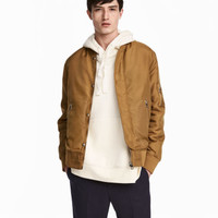 H&M Nylon Bomber Jacket $59.99