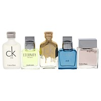 Calvin Klein 5 Piece Deluxe Fragrance Travel Collection Men