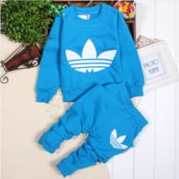 Sweat Suit in Blue Yellow Red or White - Baby/Kids