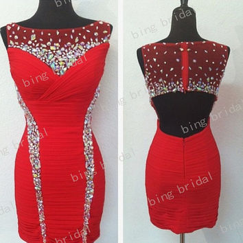 red prom dresses, short prom dresses, red cocktail dress, cheap prom dresses, prom dresses 2014, sexy prom dresses, dresses for prom