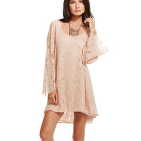 Chaser T-Back Lace Dress