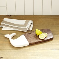 Great Whale Cutting Board