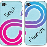 New Best Friends  Double iPhone 4/4s or 5 iPod by DesignSkinz