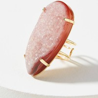 Teardropped Druzy Cocktail Ring