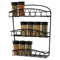 Spectrum Diversified Twist Wall Mount Spice Rack