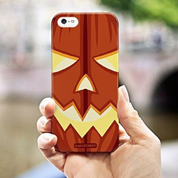 Inspired Cases 3D Textured Jack-O-Lantern Halloween Case for iPhone 6