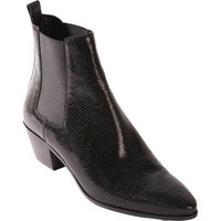 Saint Laurent Stamped Rock Chelsea Boot at Barneys New York at Barneys.com