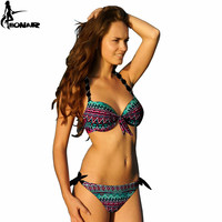 Bikinis Women 2016 Print Floral Bikini Women Swimsuits Brazilian Push Up Bikini Set Bathing Suits Plus Size Swimwear Female XXL