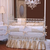 Royal Palace Crib Bedding by Little Bunny Blue