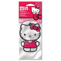 Hello Kitty Air Freshener - Strawberry Scent - 2 Pack