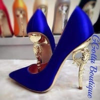 GGotta's Silk High heel trophy heel design