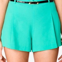 Pleated Crepe Shorts | FOREVER 21 - 2025100513