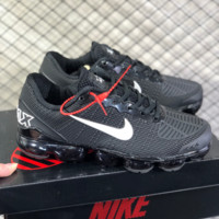 DCCK N806 Nike Air Vapormax Flyknit 2019 Nanotechnology Drop Plastic Shock Absorbing Slip-proof and Wear-resistant Sports Shoes Black White