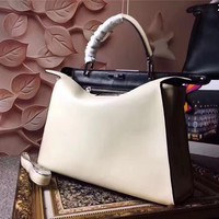 Ready Stock Fendi Women's Leather Peekaboo Hndbag Shoulder Bag #474