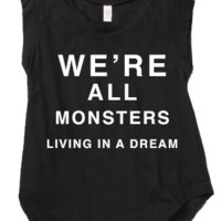 We're All Monsters (Cut Off) - 8123 - Eighty One Twenty Three