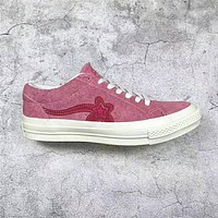 Brand New Tyler The Creator One Star x Golf Le Fleur TTC Solar Yellow Sneaker Trainers Shoes Casual Shoes Come With Box
