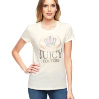 Logo Juicy Couture Crown Tee by Juicy Couture