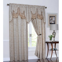 Walmart: Portofino Raised Polyester Curtain Panel
